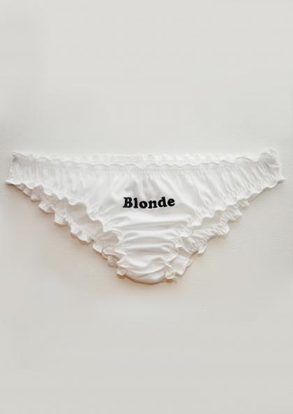 Ma culotte blonde